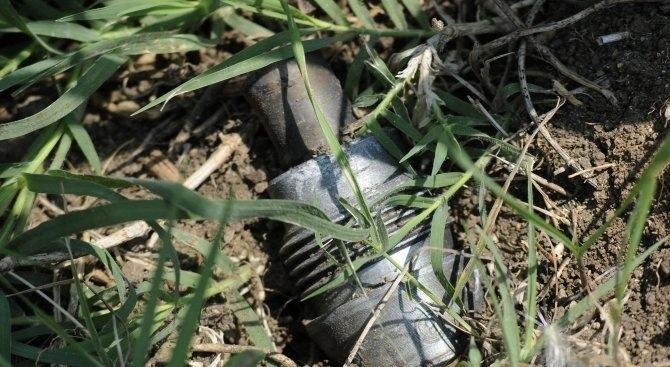 Снаряд е открит при изкопни работи в двора на училище