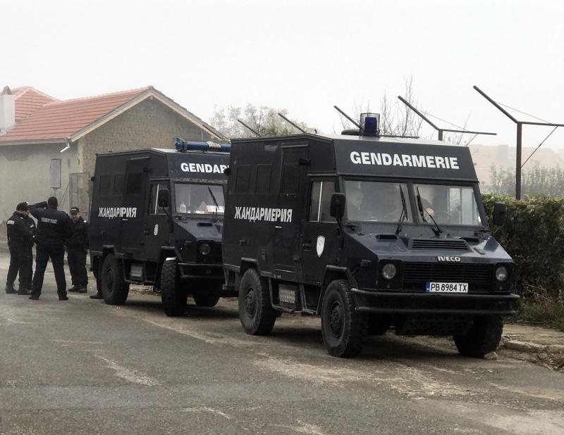 Врачанското село Малорад е блокирано от служители на полицията и