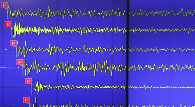 Две слаби земетресения са регистрирани на гръцките Цикладски острови в