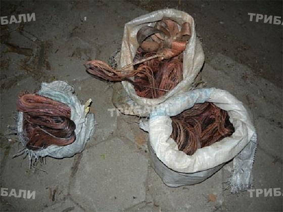 Хванаха крадци на меден кабел в Монтанско