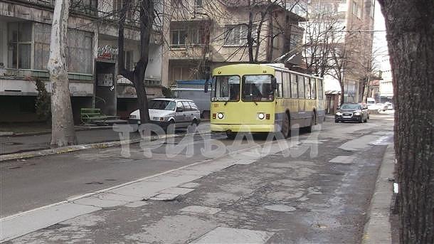 """Съобщение на """"Тролейбусен транспорт"""" - Враца"""