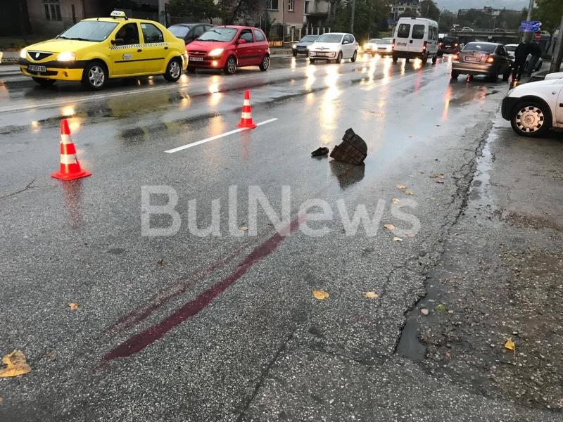Снимка: Вижте подробности за състоянието на пометената във Враца жена