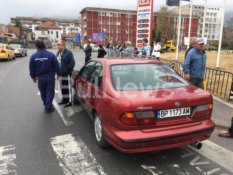 МВР излезе с официална информация за блъснатата пешеходка във Враца