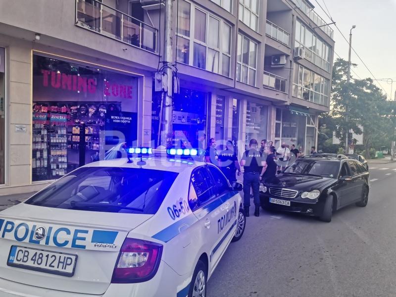 От полицията потвърдиха новината на BulNews за катастрофиралото в магазин