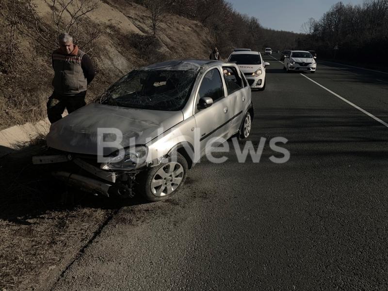 Тежка катастрофа е станала на главен път Е-79 между Враца