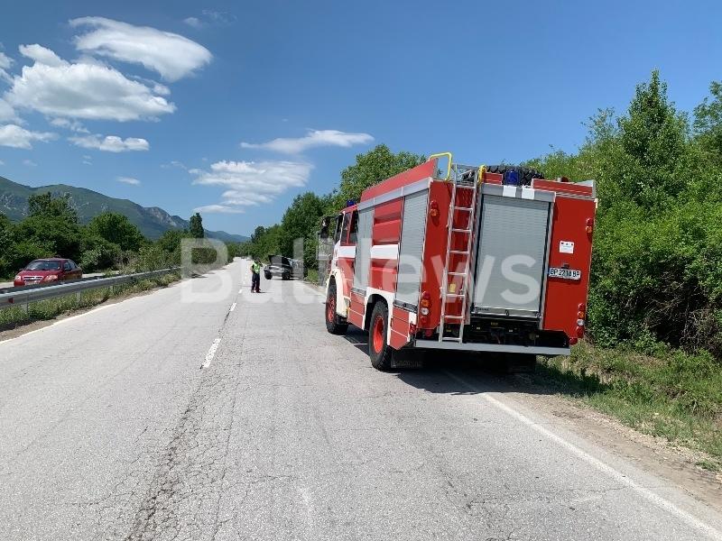 От последните минути! Две жени с джип се размазаха на Е-79 между Мездра и Враца /снимки/