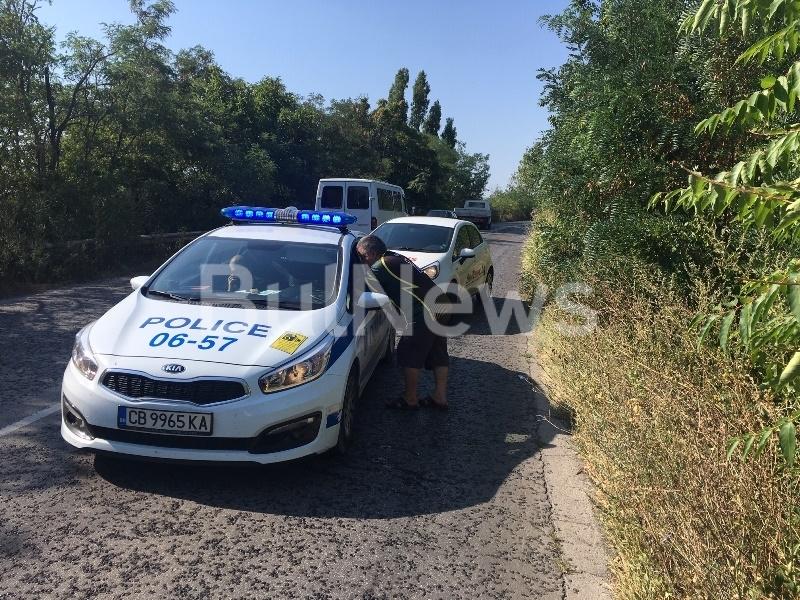 От последните минути! Две коли се нанизаха на пътя между Враца и Оряхово /снимки/