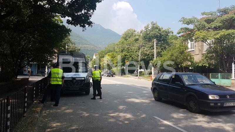 Жандармерия и полиция окупираха Враца от ранни зори, видя екип