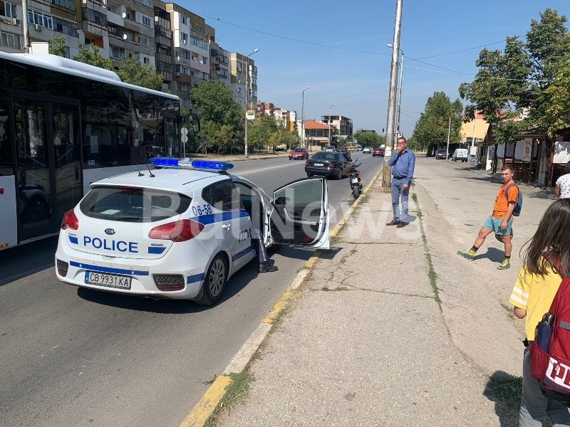 Катастрофа с моторист стана на Криводолско шосе във Враца, видя