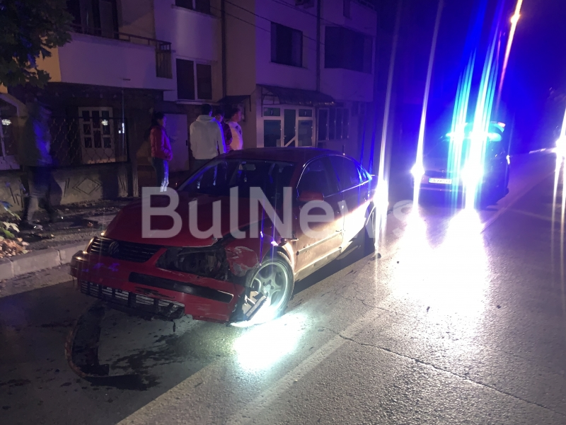 Тежка катастрофа е станала преди минути в центъра на Враца,