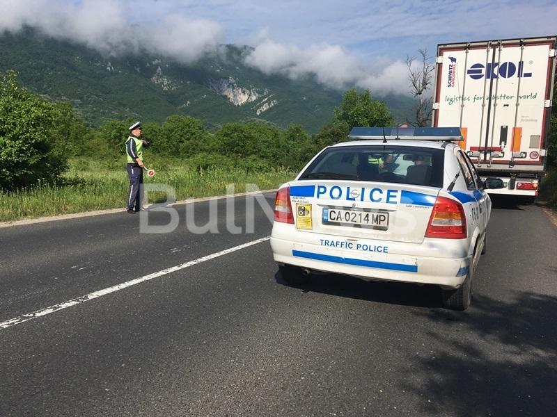 Тежка катастрофа е станала тази сутрин на излизане от Враца