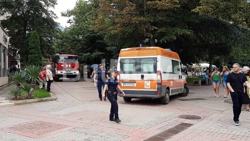Суматоха в центъра на Враца вдигна накрак службите в града,