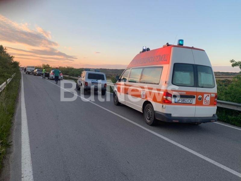 Извънредно! Жестока катастрофа затвори пътя между Враца и Криводол /снимки/