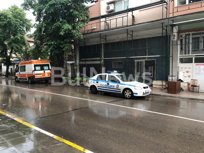 Извънредна ситуация има в центъра на Враца, видя само репортер