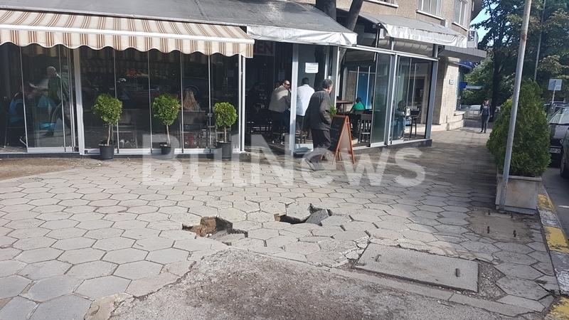 Загадка! Невидим звяр изяжда земята пред Кривия блок във Враца /снимки/