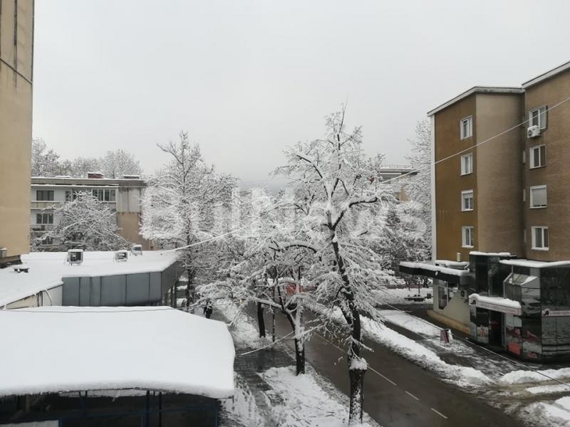Около 20 см сняг натрупа в Северозападна България. Толкова е