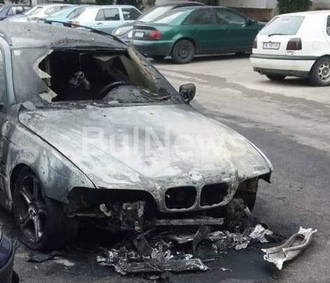 Информационна агенция BulNews.bg се сдоби с първи кадри от палежа