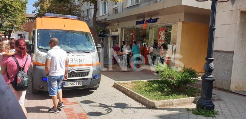 Инцидент в центъра на Враца вдигна на крак екип на