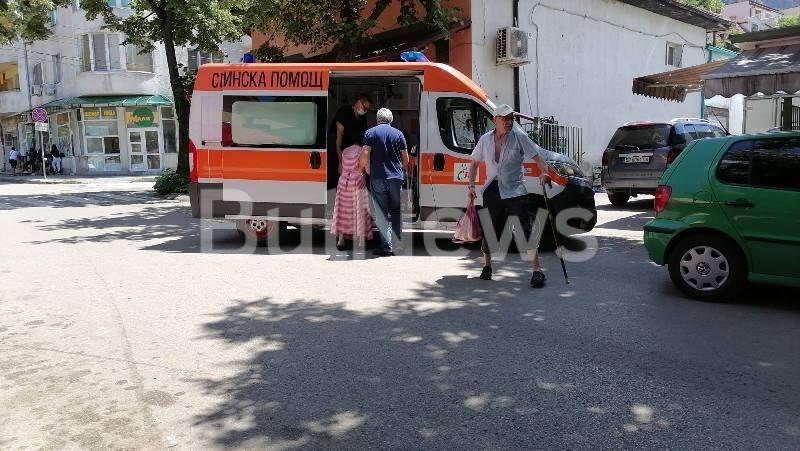 Линейка долетя до Кооперативния пазар във Враца заради човек в