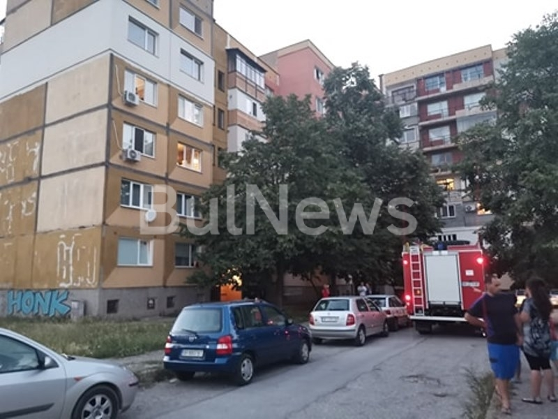Извънреден инцидент стана в най-големия жилищен комплекс във Враца, видя