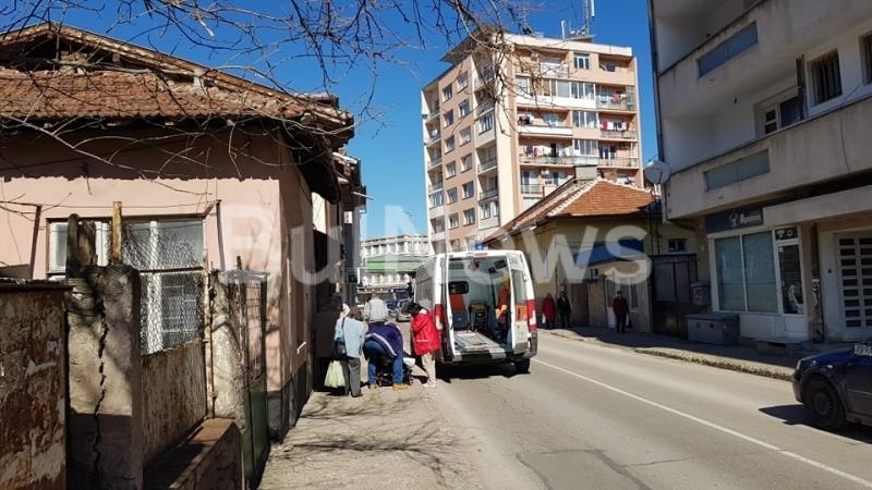 Линейка долетя в центъра на Враца, видя репортер на BulNews.